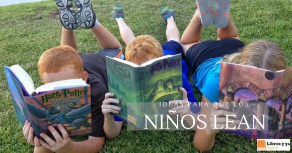 Niños leer